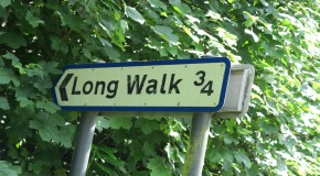 Long Walk Signpost